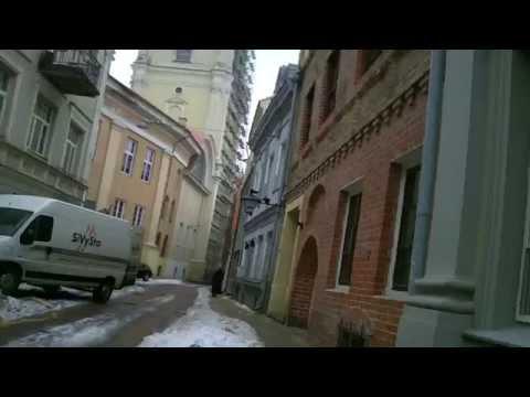 Weather in Vilnius, Lithuania, 2010-02-25, temperature - plus 1 C from Oras TV