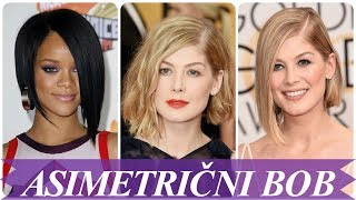 Nove asimetricne bob frizure