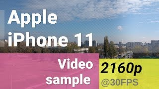 Gambar cover Apple iPhone 11 2160p@30fps video - zoom in/out test