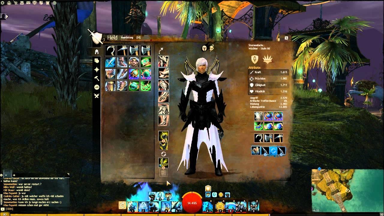 Guild Wars  Guardian Wvw Build