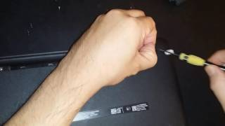 HP 15-AC151DX Disassembly Hard Drive Removal