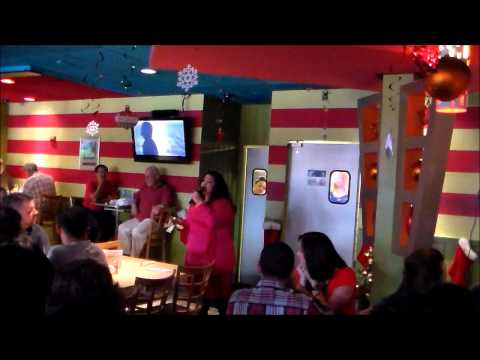 Adrienne Lovette sings at Hamburger Mary's BROADWAY BRUNCH
