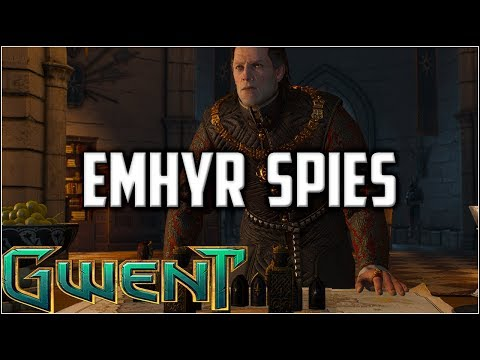Gwent King Bran The Popular Guy ~ Atra Emhyr Spies ~ Gwent Gameplay Deck Guide The Witcher Card Game