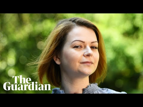 Yulia Skripal says her world has 'turned upside down'