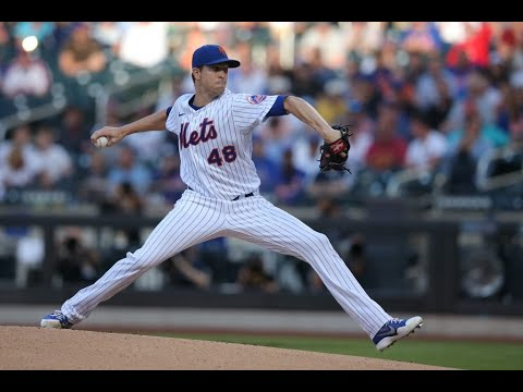 Report: Jacob DeGrom's Second MRI Clean; Status is Day-to-Day