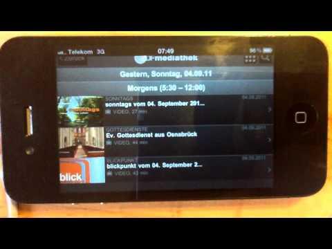 ifun.de - ZDF Mediathek App für iPhone