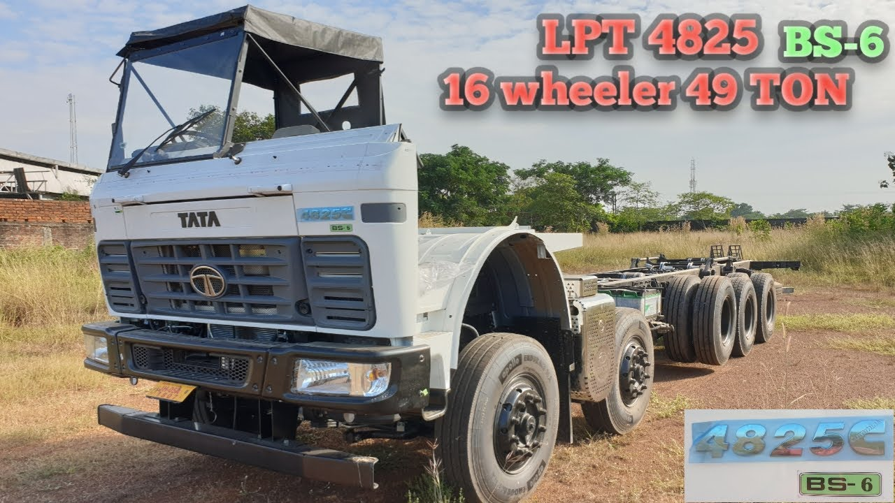 @COMMERCIAL WORLD #LPT4825COWLBS6   PRICE🔥MILEAGE 🔥REVIEW🔥Lpt 4825 BS6 COWL hindi review