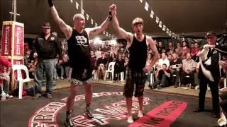 Jimmy Shannon fights challenger - Outback Fight Club - Wynnum 2015