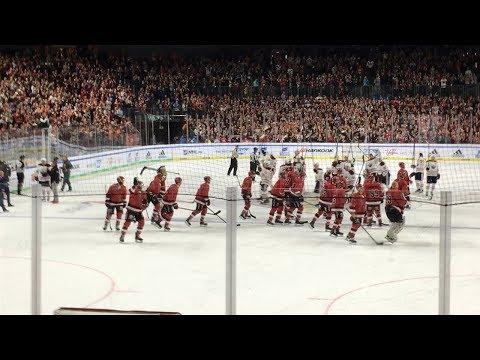 Edmonton Oilers - Kölner Haie   NHL Global Series 2018 Overtime + Spielende