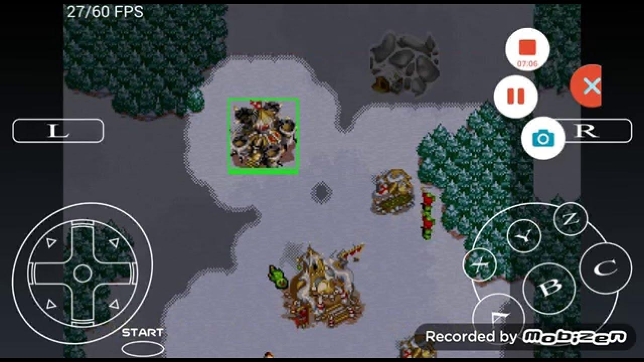 Sega Saturn Ss Android Emulator Uoyabause Warcraft 2 The Dark Saga