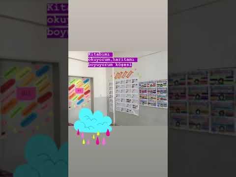 Kitap Okuma Harita Boyama Etkinlik Kosesi Youtube