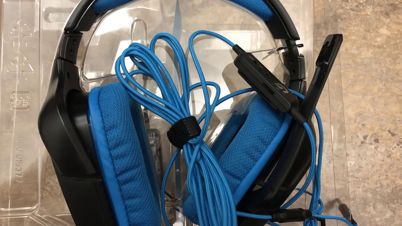 Logitech G430 7 1 DTS Headphone: X and Dolby Surround Sound Gaming Headset