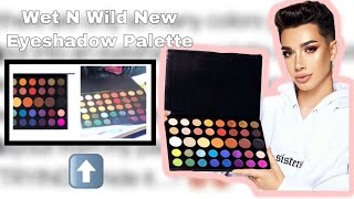 James Charles Is Suing Wet N Wild For Copying His Entire Eyeshadow Palette.