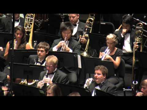 UNC Wind Ensemble - Overture to Candide by Leonard Bernstein, arr. Grundman