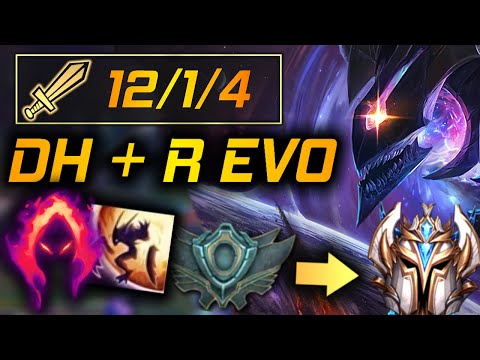 Adapting with Dark Harvest and R Evolve | Kha'Zix Only Unranked to Challenger Season 10
