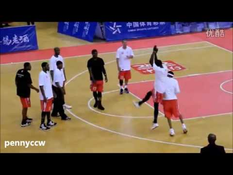 Allen Iverson vs Stephon Marbury  US Legend China Tour (2011)