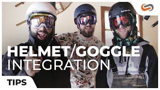 Ski Helmet - Snowboarding Helmet and Goggle Integration  - From Dad to Rad | SportRx.com