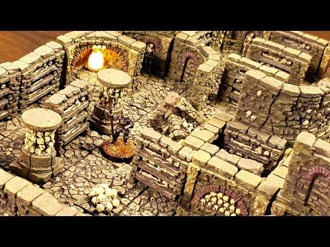 Dwarven Forge Catacombs Set Overview