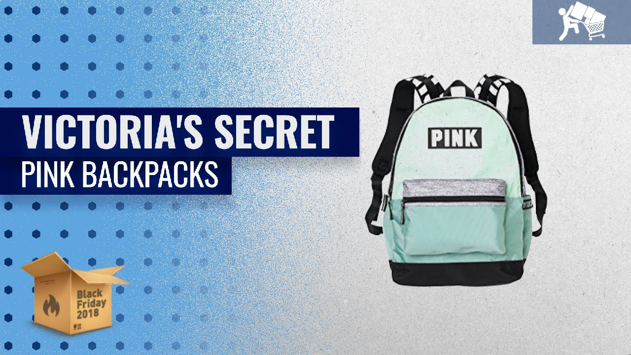 b855c90414b70 Victoria's Secret Pink Backpacks To Buy On Black Friday / Cyber Monday 2018    Black Friday Guide