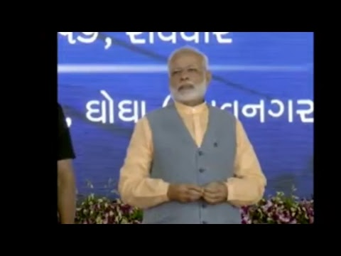 PM Modi to inaugurate Ro-Ro ferry service & cattle feed plant in Ghogha, Gujarat