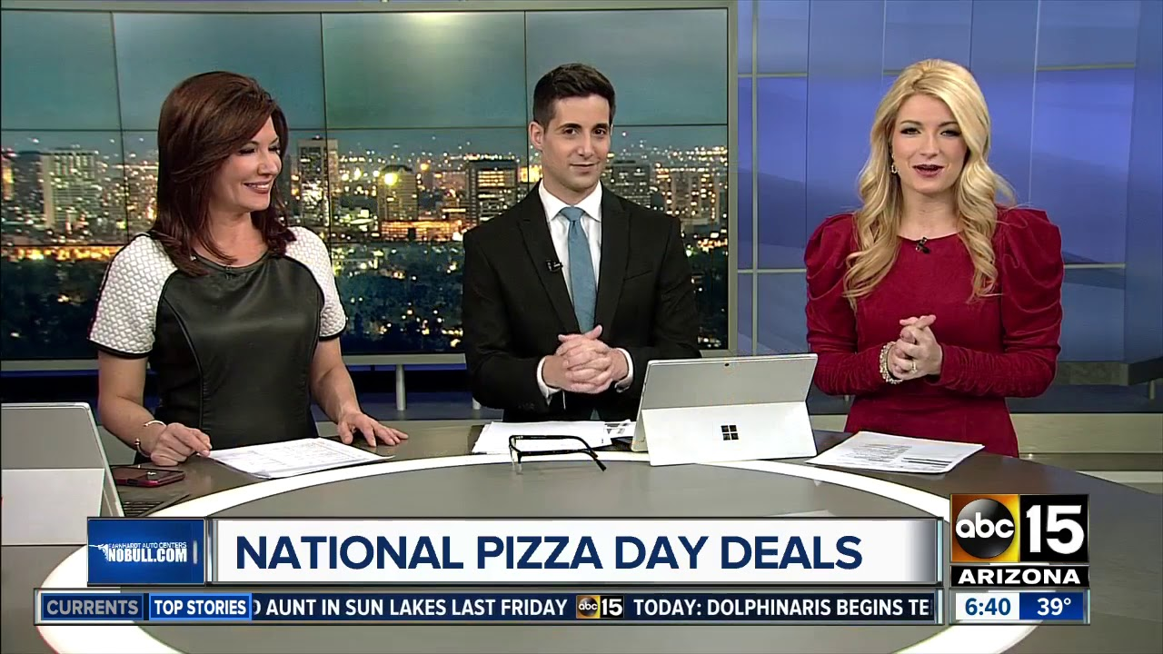 Check out the deals being offered for National Pizza Day