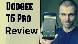 dOOGEE T6 PRO Review/Hands on/Gaming/Benchmark/Screen/Camera (Test)Video