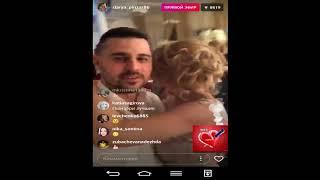 Сергей и Даша Пынзарь свадьба Кузиных прямой эфир 24 11 2017 дом2 новости 2017