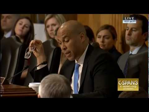 Video: Sen. Cory Booker Grills Mike Pompeo on His Past Anti-Muslim Statements and Associations