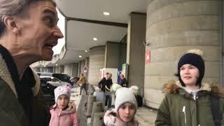 Париж сюрприз для детей на пути в Тайланд