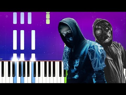 alan-walker,-k-391,-&-ahrix---end-of-time-(piano-tutorial)