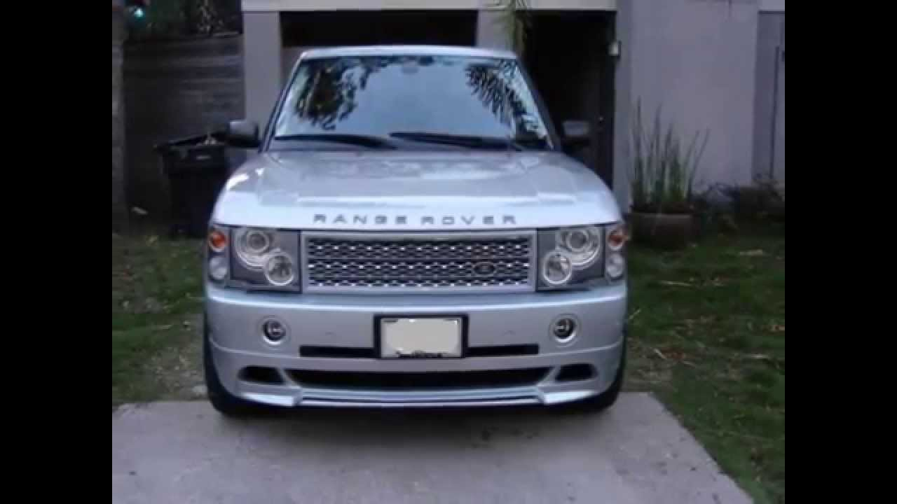 03 05 Range Rover Hse Wald Style Body Kit For Sale Youtube