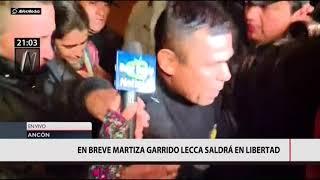 Maritza Garrido Lecca sale de prisión tras cumplir su condena