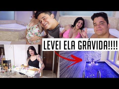 LEVEI ELA GRÁVIDA NO MOTEL COM PISCINA!!!