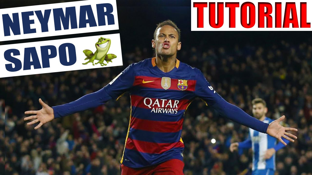 Juega Como Neymar Como Hacer Un Sombrero Al Estilo Neymar Jugadas Caños Fintas De Futbol Youtube