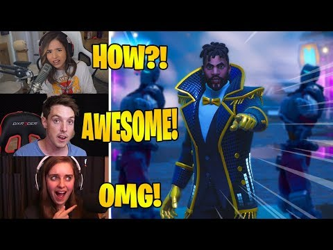 STREAMERS REACT TO PANINI FORTNITE MUSIC VIDEO! FT. LAZARBEAM, POKIMANE & MORE!