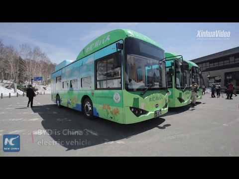 Chinese-made electric buses put into operation in Japan