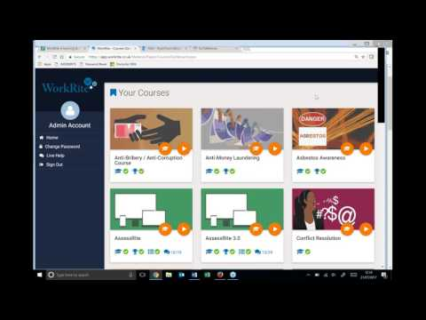 Meet the new look WorkRite e-learning system | Posturite Webinars