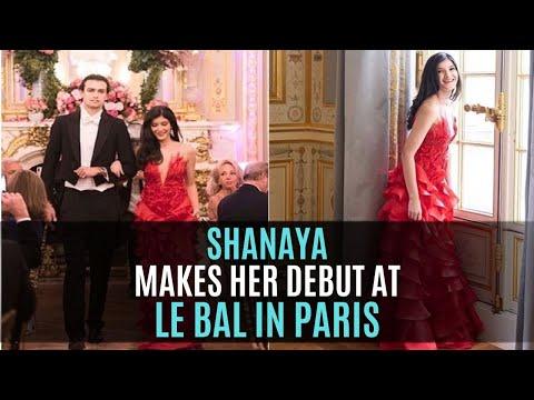 Shanaya Kapoor makes her grand debut at Le Bal Des Debutantes in Paris | SpotboyE Mp3