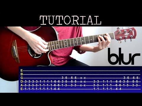 Cómo tocar Song 2 de Blur (Tutorial Guitarra) / How to play
