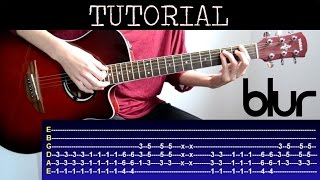 Cómo tocar Song 2 de Blur (Tutorial Guitarra) / How to play