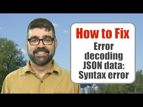 "How to Fix the ""Error Decoding JSON Data: Syntax Error"" in Joomla When Logging into the Admin Area"