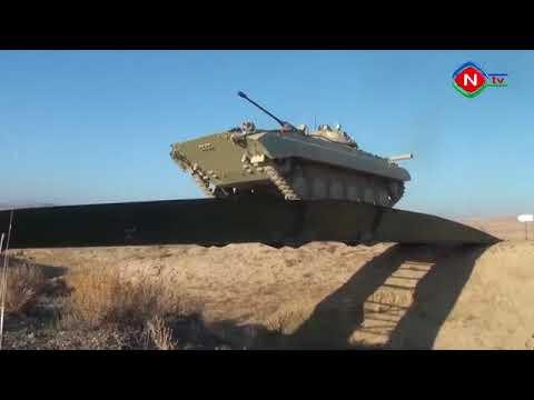 Practical shootings carried out at war games in Azerbaijan's Nakhchivan (VIDEO)