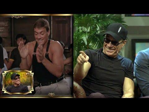 Beyaz Show- Jean Claude Van Damme, Türk Nameleri Ile Dans Etti!