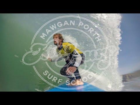 Kingsurf surf school, Mawgan Porth, Newquay, Cornwall