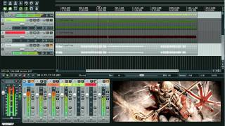Iron Maiden - The Trooper [Original Guitar Backing track from the official multitracks]