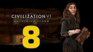 Прохождение Civilization 6: Gathering Storm #8 - Весь мир на ладони [Швеция - Божество]