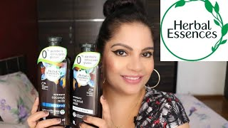 *NEW* HERBAL ESSENCES COCONUT MILK SHAMPOO & CONDITIONER REVIEW