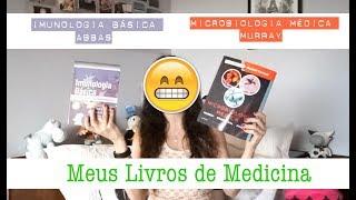 MEUS LIVROS DE MEDICINA // Imunologia Básica - Abbas e Microbiologia Médica - Murray