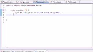 Java Programming Tutorial - 57 - Overriding Rules