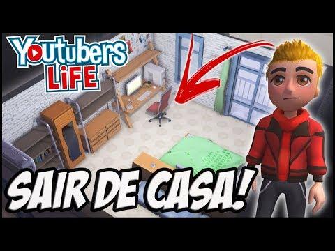 SAIR DE CASA PARA CRESCER COM O CANAL! YOUTUBERS LIFE (SORTEIO DE GTX 1050 VENHA PARTICIPAR)